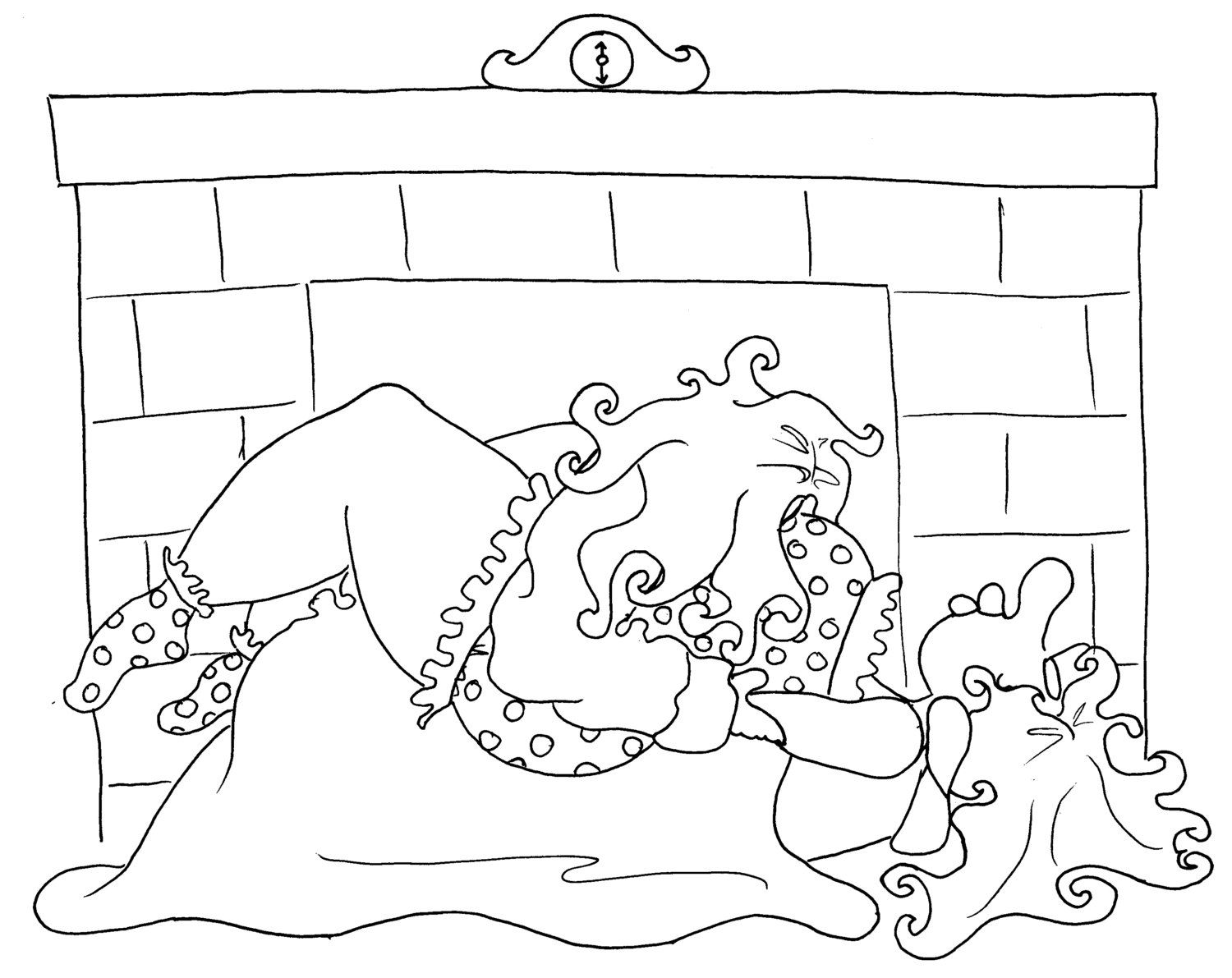 the fold a kama sutra coloring page from chubby art
