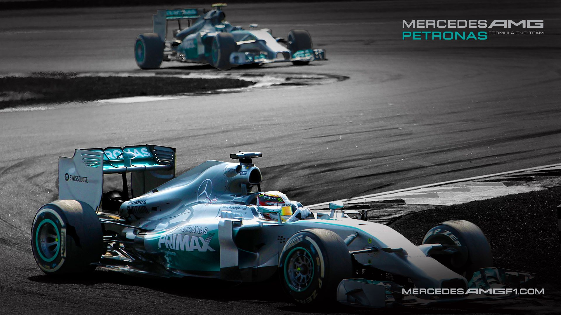 formula one mercedes amg petronas moving desktop wallpaper - walls
