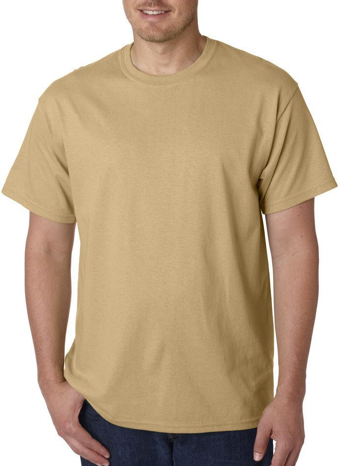 9ed4fd6c2ccf6 gildan(R) heavy cotton  adult t-shirt - old gold (l)