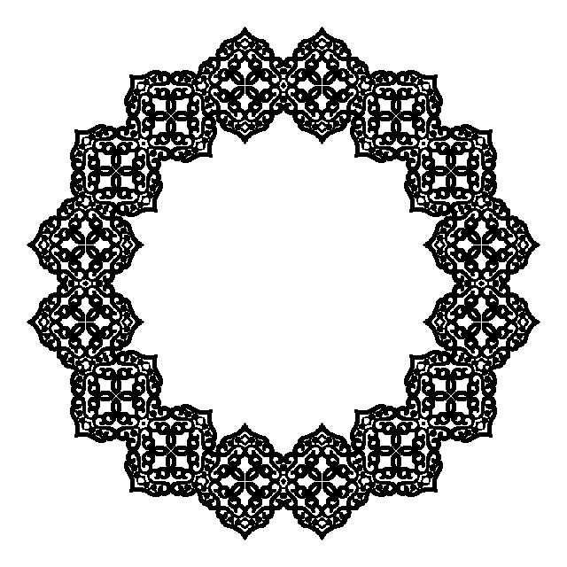 التعميم نمط الباروك جولة نمط دائري ناقلات خمر Png والمتجهات للتحميل مجانا Baroque Pattern Design Baroque