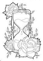Sand clock tattoo designs  non traditional hourglass tattoos - Google Search | Tattoo ideas ...
