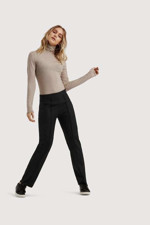 f064015c0c45 Women's Wool-Blend Tailored Pants - Straight Talk Trouser | Kit and Ace