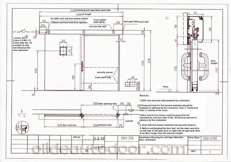 Installation Of Automatic Hospital Door Opener Sliding Gate Opener Sliding Gate Swing Gate Opener