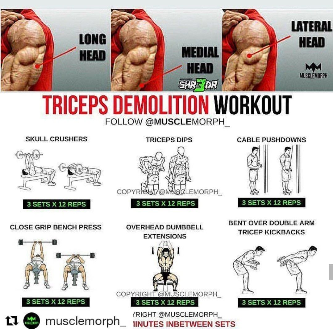 Pin On Tricep Exercises