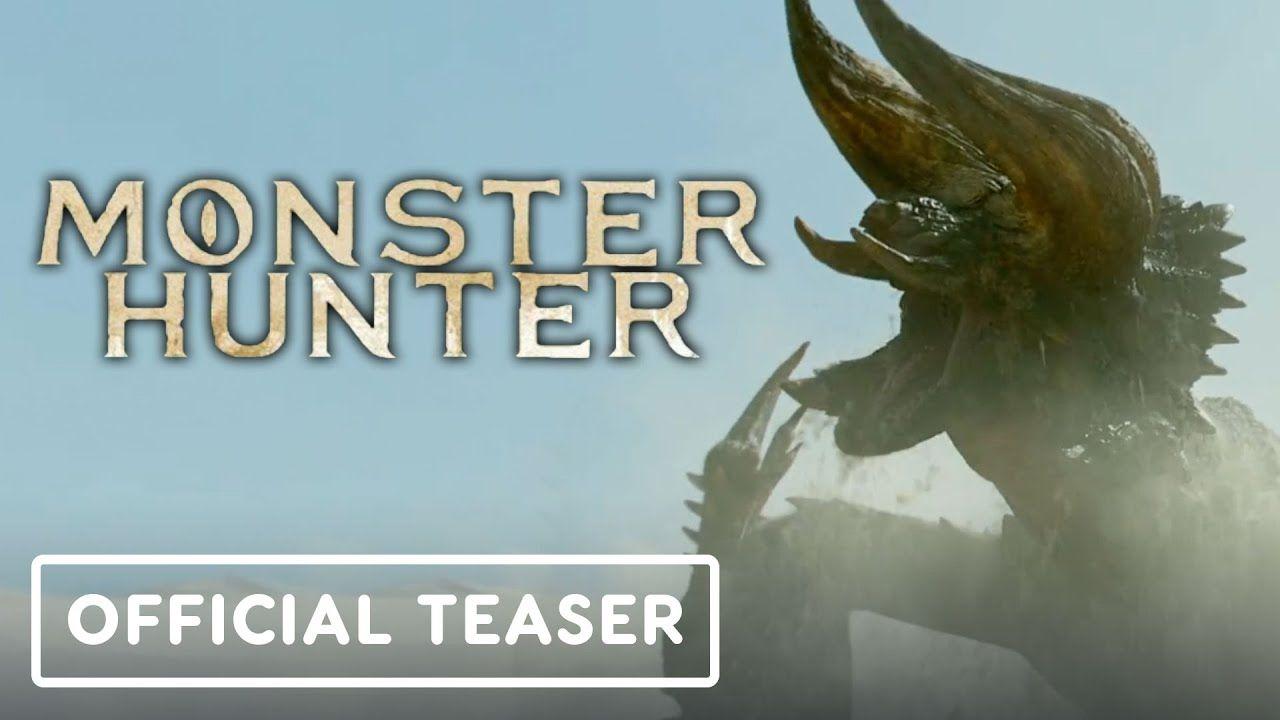 Monster Hunter Exclusive Official Movie Teaser Trailer 2020 Milla Jovovich Tony Jaa In 2020 Monster Hunter Movie Monster Hunter Movie Teaser