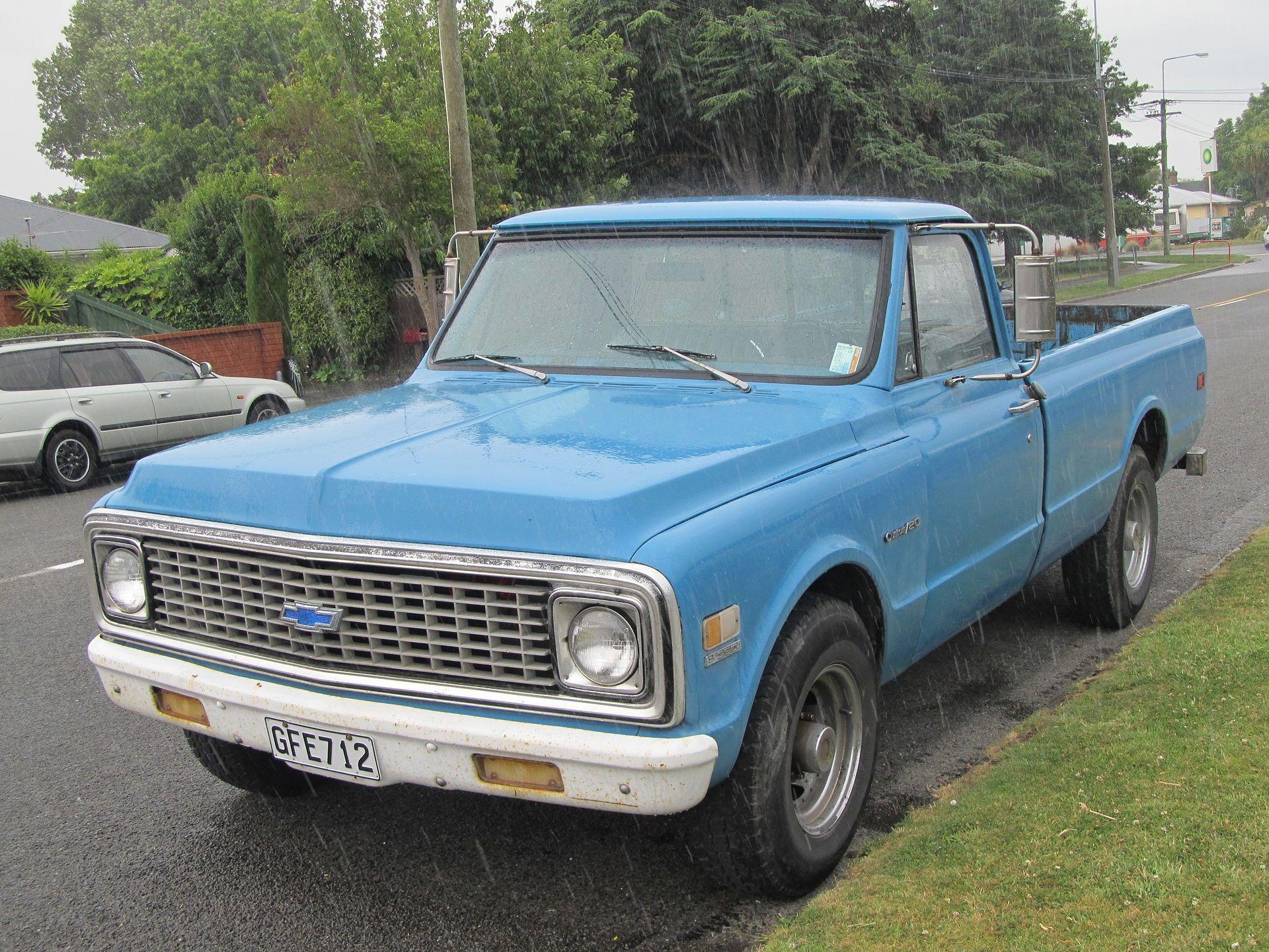 1971 Chevrolet C 20 Custom Chevrolet C K Wikipedia Chevrolet