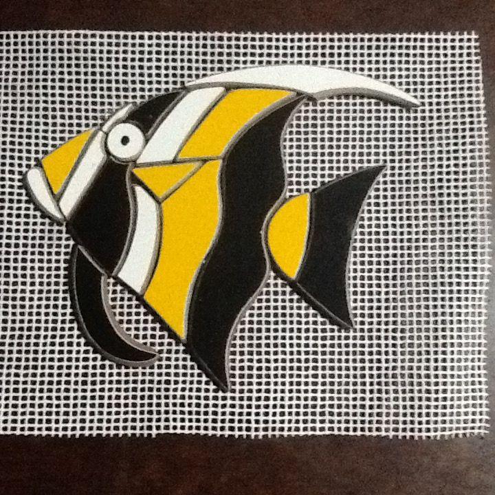 Apliques de mosaico - Ana Vasconcellos