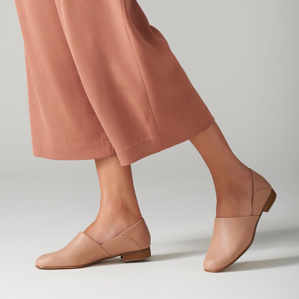 Pure Tone Blush Leather - Women's Shoes