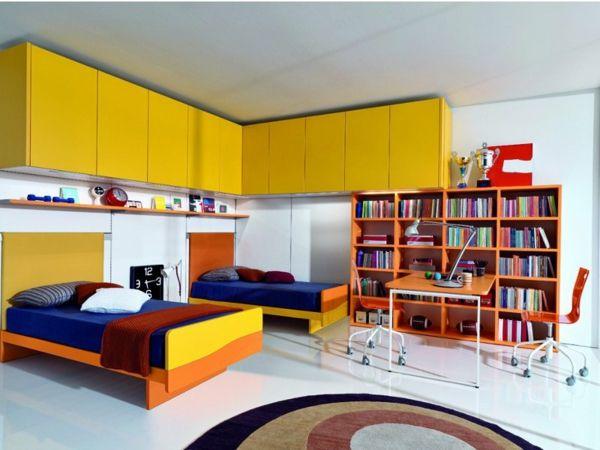 Jungen Kinderzimmer gestalten Ein Zimmer voller Farben