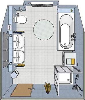 Badezimmer beispiele 10qm | łazienki | Pinterest | Badezimmer ...