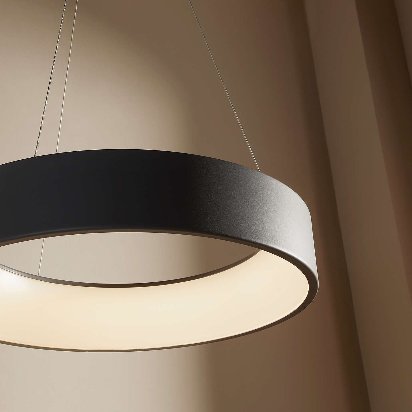 Design Project By John Lewis No 132 Finn Led Hoop Ceiling Light Ceiling Lights Led Ceiling Lights Led Hoops