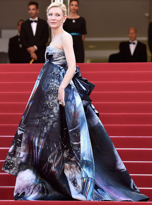 Cate Blanchett in Giles Nice dresses, Red carpet dresses