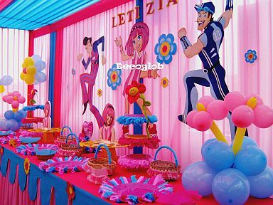 Fiestas infantiles decoraci n lazy town 384 288 - Decoracion de fiestas infantiles ...