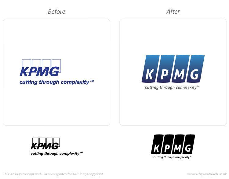 Logos Re Imagined Kpmg Logo Concept