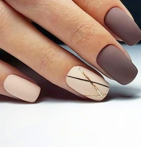 70 Cute Short Acrylic Square Nails Ideas For Summer Nails With