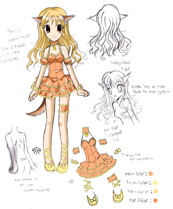Mew Lentil Reference Sheet by Lyricalx on DeviantArt