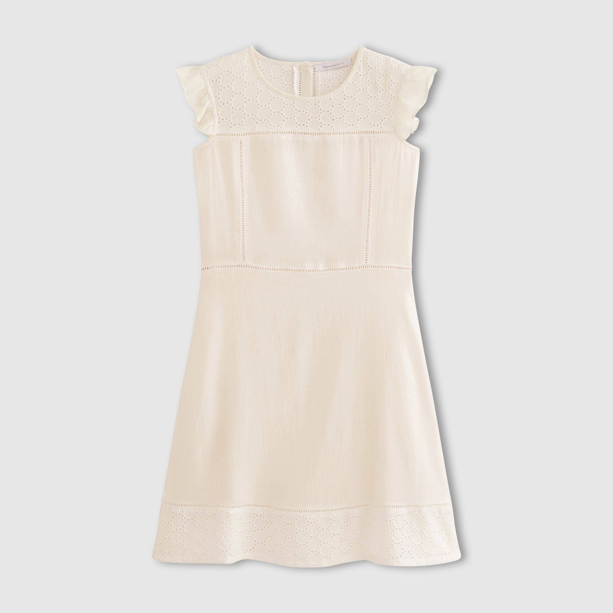 Shortsleeved broderie anglaise dress mademoiselle r price