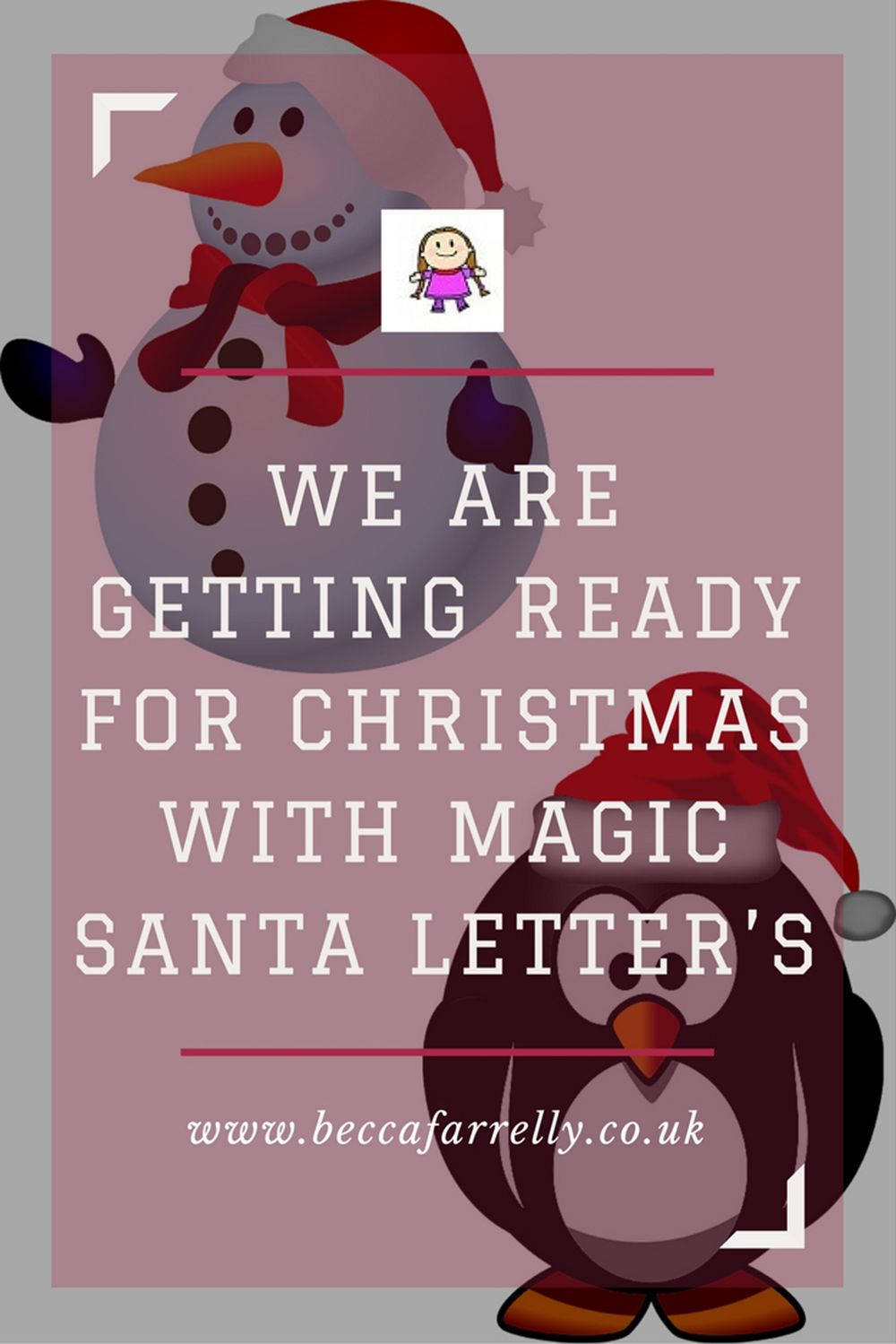 We are getting ready for christmas with magic santa letters magic magic santa m4hsunfo Images