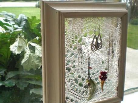 Fotografía y enlaces a diferentes páginas con ideas para utilizar tapetes de ganchillo.