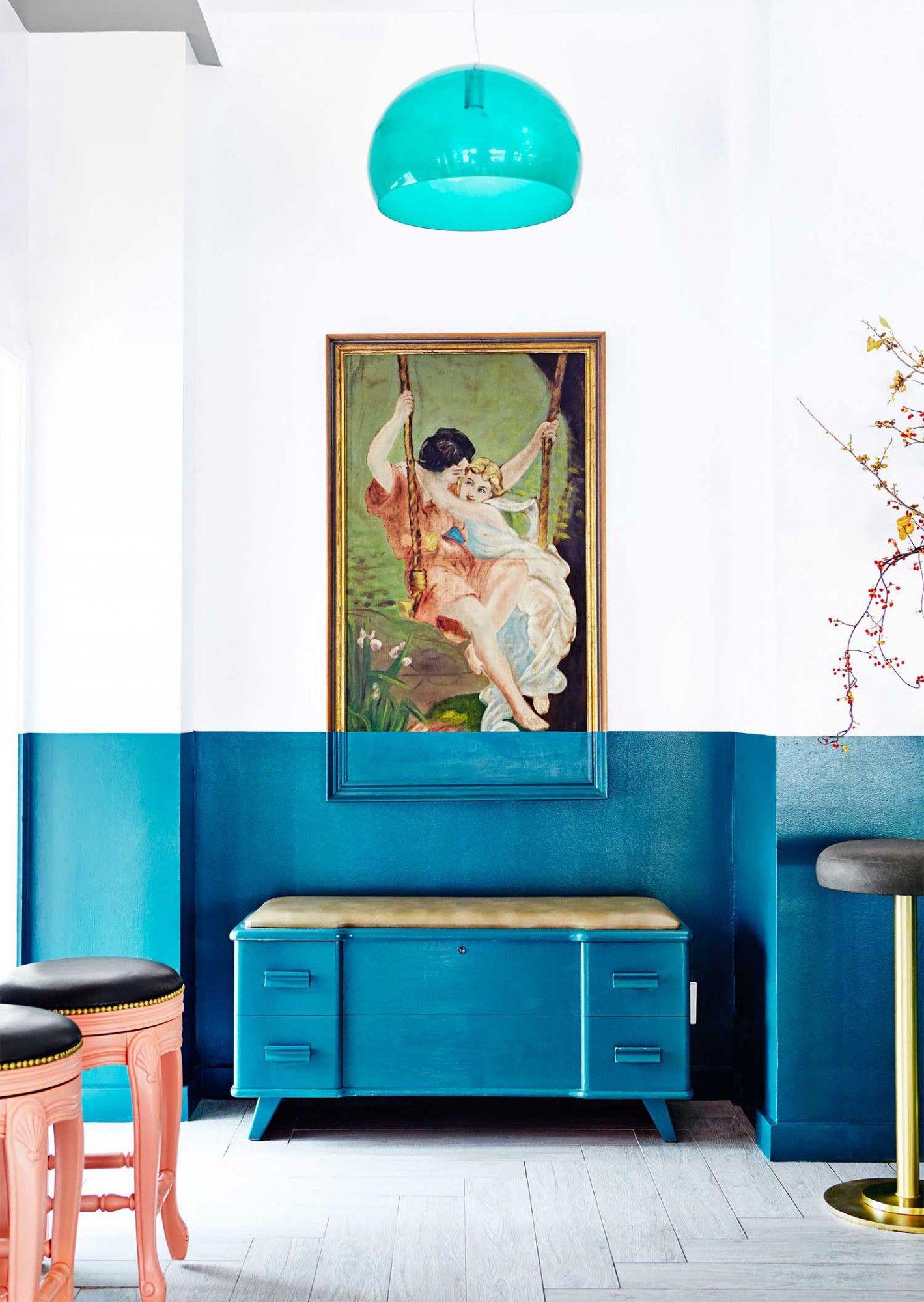 FLÁVIA GERAB RESPONDE Bicolor Diseños de pared y El tigre