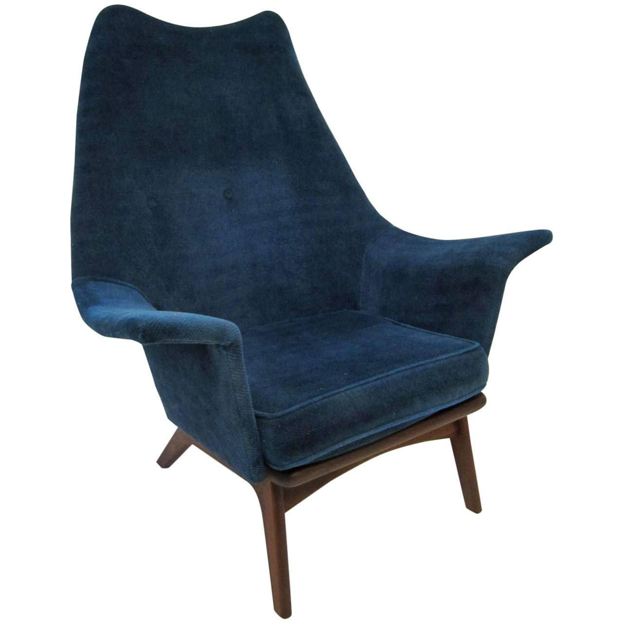 Excellent Adrian Pearsall Wingback Lounge Chair Mid-Century Modern