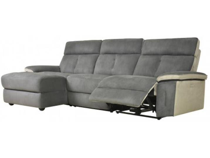 Ecksofa Relaxsofa Microfaser William Ecke Links Couch Furniture Home Decor