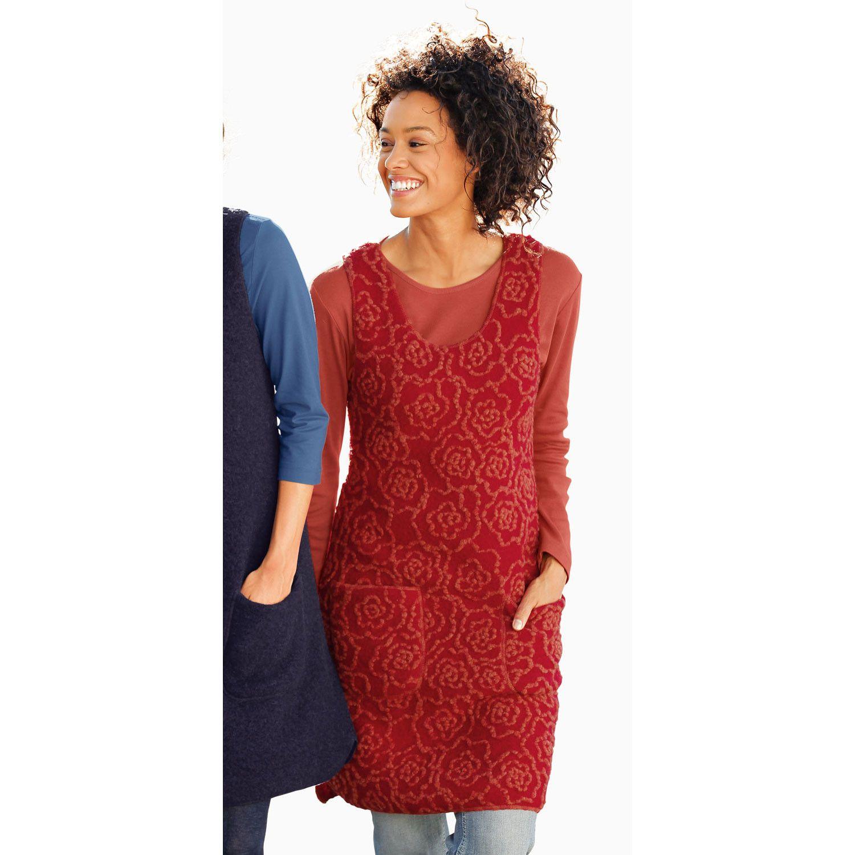 a403e7dc1d7af0 Walk Kleid Tunika Rot Terra S Vivanda Kleider Kleid