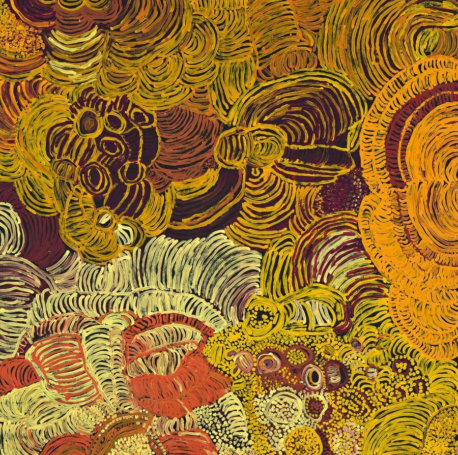 EILEEN YARITJA STEVENSPILTATI, 2006 200.0 x 201.0 cm synthetic ...