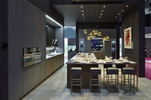 In other news the luxury german kitchen manufacturer poggenpohl will showcase the segmento kitchen