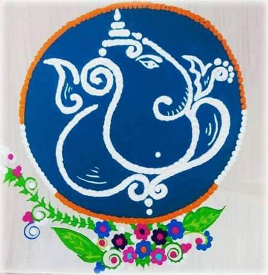 Indian Rangoli - Rangoli | Indian rangoli, Rangoli designs ...
