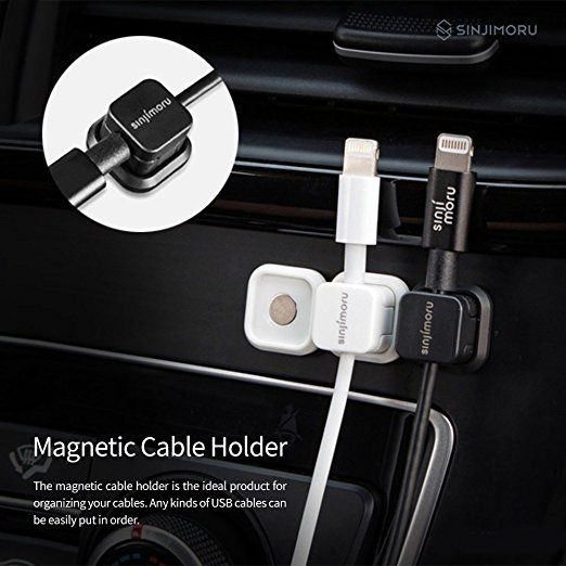 Multi-purpose Magnetic Earbuds Wire Winder Organizer 3Pack Cable Management