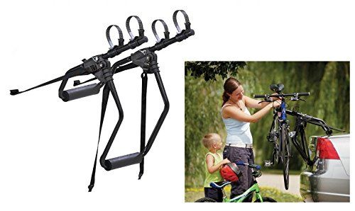 Saris Cycling Group 170r 2 Bike Trunk Rack Best Bike Rack Cool Bike Accessories