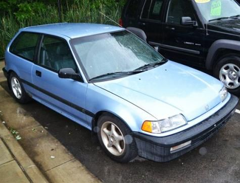 1990 Honda Civic Standard Hatchback For Under 3000 In