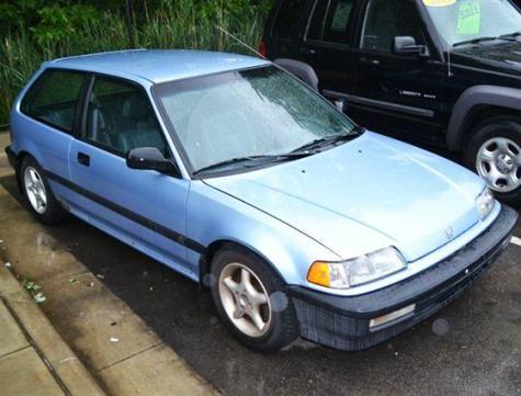1990 honda civic standard hatchback for under 3000 in ohio cheap cars for sale pinterest. Black Bedroom Furniture Sets. Home Design Ideas