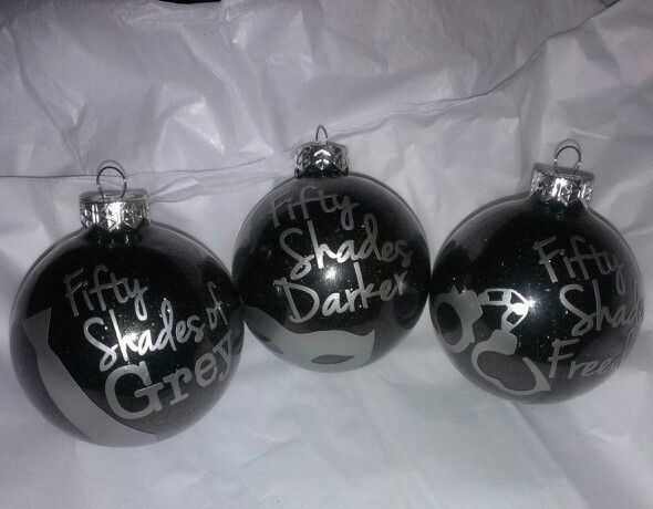 Fifty Shades Of Grey Ornaments at KinkyGirlsBookObsessions@gmail.com #FSOG  #ChristianGrey # - Fifty Shades Of Grey Ornaments At KinkyGirlsBookObsessions@gmail.com