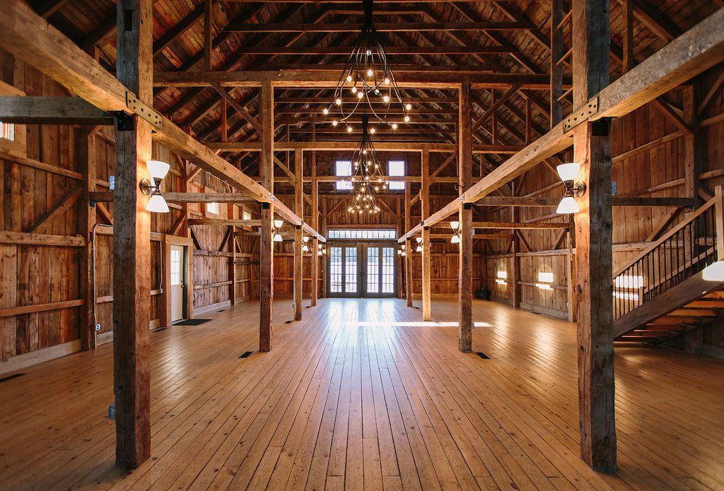 Rustic Elegant Maine Wedding Barn Venue The At Flanagan Farm