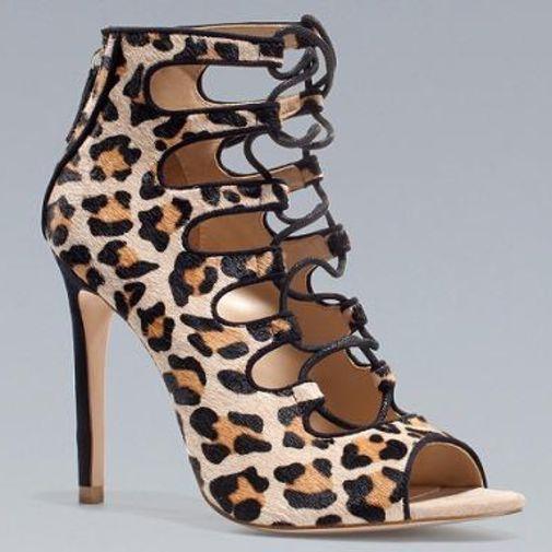 d12340cbed Zapatos Leopardo Zara - Chicfy