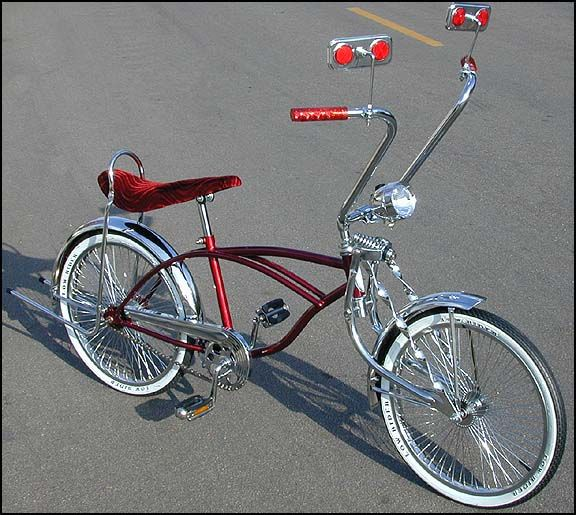 Lowrider Bicycles and Lowrider Bike Parts