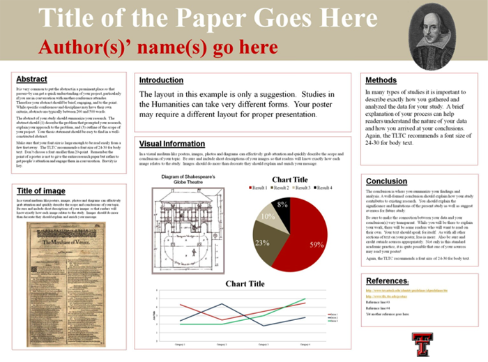 Presenting Conference Papers And Posters In The Humanities Tlpdc Teaching Resources Teaching R Research Poster Academic Poster Poster Presentation Template