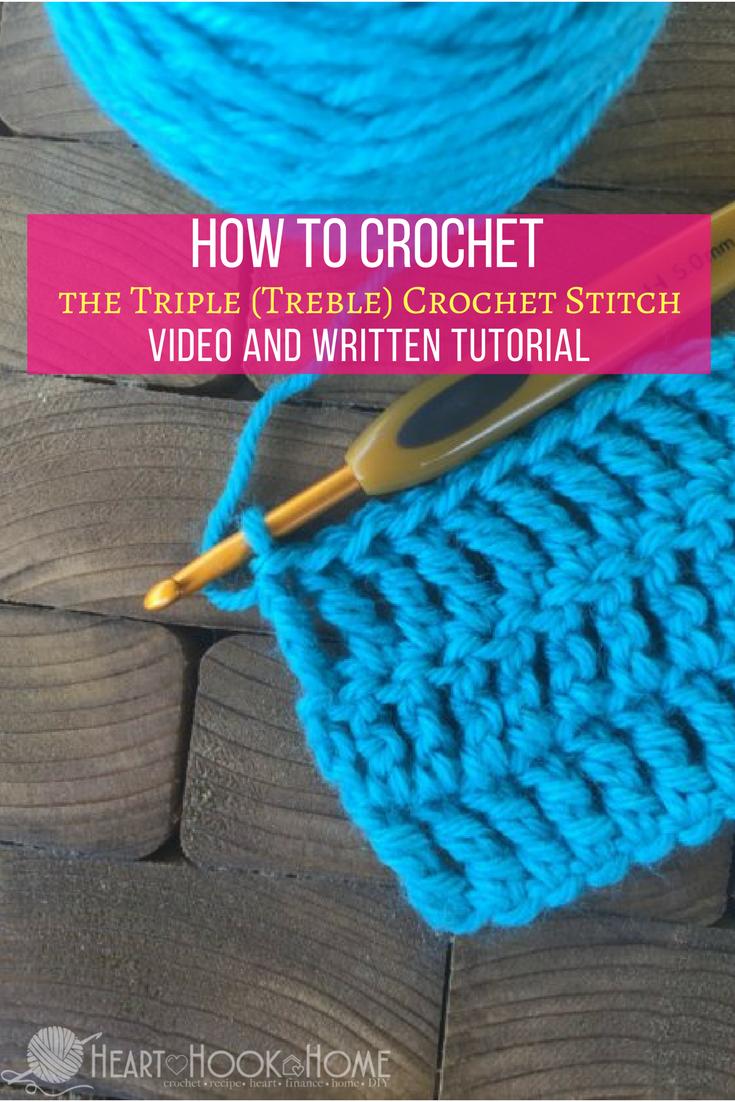 Learn How To Crochet The Triple Treble Crochet Stitch Crochet Stitches Crochet Triple Crochet Stitch