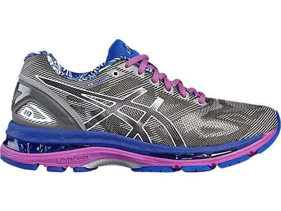 Gel Nimbus 19 Lite Show Women Carbon Snow Reflective Asics