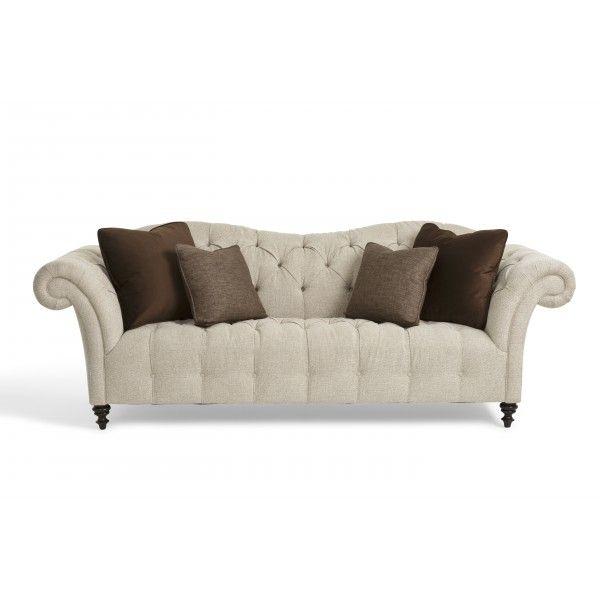 Broyhill Sofa Valorie Ecru Bernhardt Star Furniture Houston TX Furniture San Antonio