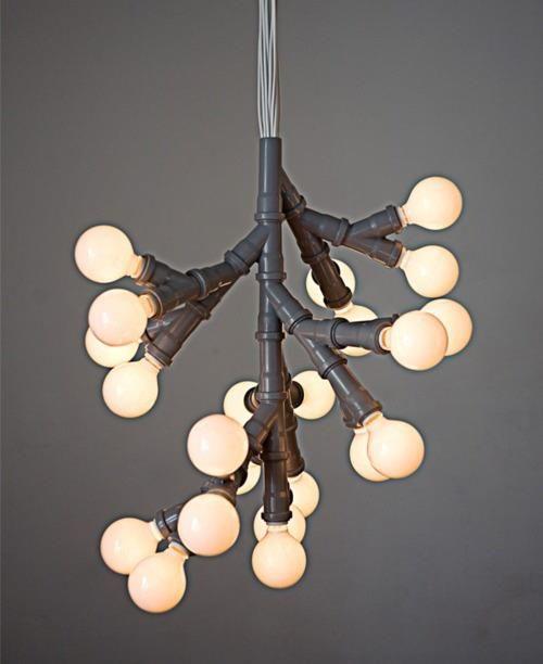Luminária super criativa, vou fazer