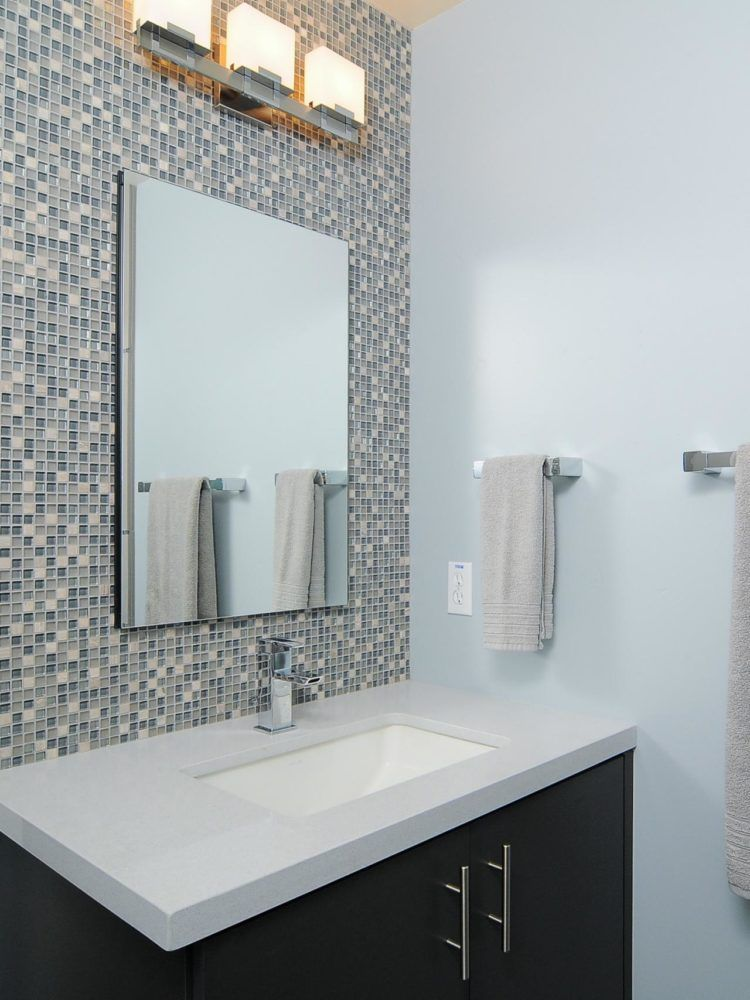 Mid Century Modern Living Room Enlivening Your Home With New Distinctive Interior Style Mosaic Bathroom Tile Bathroom Tile Designs Bathroom Design