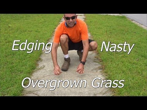 71 How To Edge A Lawn With An Edger A Few Lawn Service Tips And Tricks As Well Youtube Lawn Service Lawn Edging Lawn