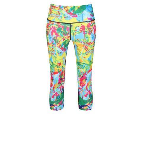8c30af57895bf Funky Printed & Patterned Fitness Capri Leggings   Tikiboo Workout Capris,  Capri Leggings, Drawstring