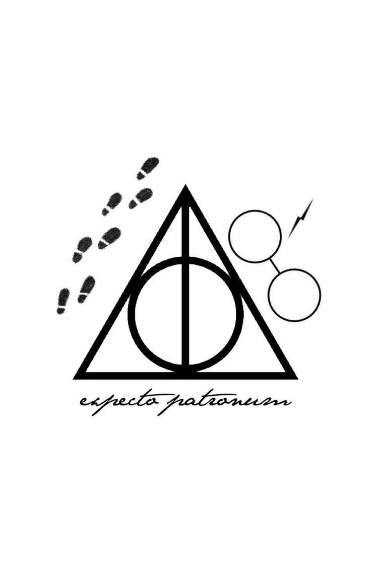 Drawing Harry Potter And The Deathly Hallows Dibujo Harry Potter Y Las Reliquias De L Harry Potter Tattoos Harry Potter Bildschirmhintergrund La Muerte Tattoo