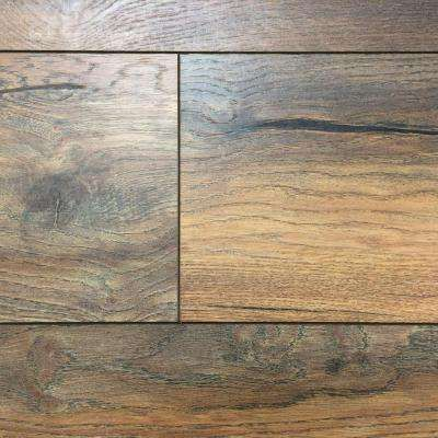Yorkhill oak 12 mm thick x 7 7 16 in wide x 50 5 8 in length laminate flooring 18 2 sq ft case living room pinterest basements flooring ideas