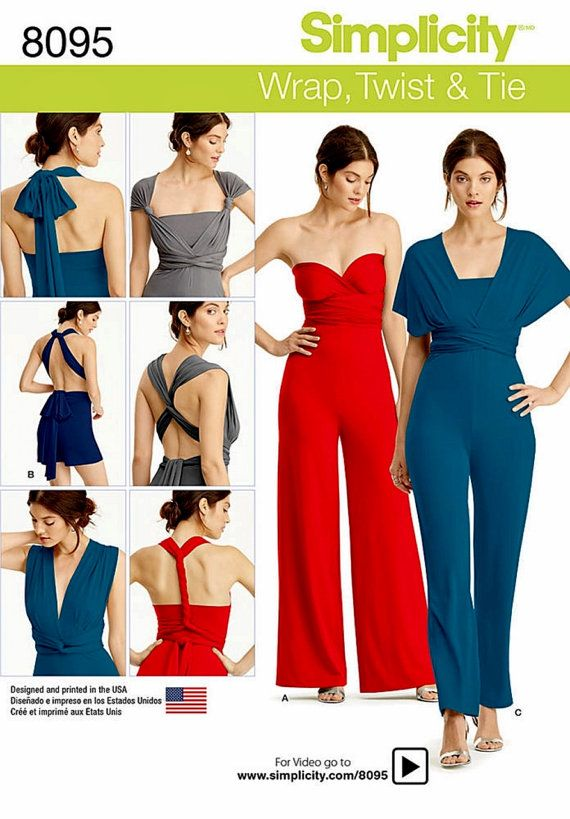 380bdb6df7bb Wrap Top Jumpsuit Pattern Strapless Jumpsuit Pattern by blue510