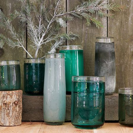 I Love This Store!! OMG it's the best store!!  ~ Glass Vases from West Elm